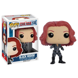 Marvel Captain America: Civil War - Black Widow Figura Pop! Vinyl