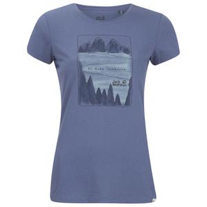 Jack Wolfskin Women's Valley T-Shirt - Blue Indigo