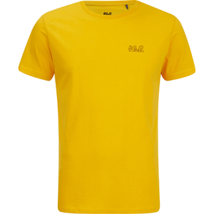 Jack Wolfskin Men's Paw T-Shirt - Burley Yellow