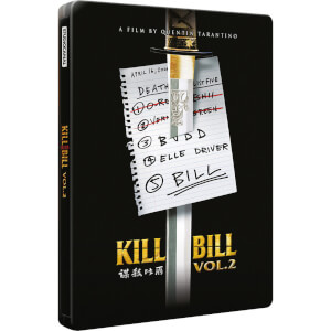 Kill Bill: Volumen 2 - Steelbook Exclusivo de Edición Limitada
