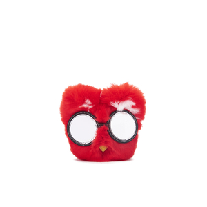 Karl Lagerfeld Women's Choupette Glasses Keychain - Red