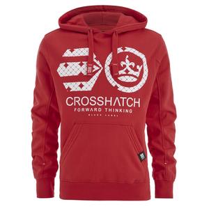 Sudadera capucha Crosshatch Arowana - Hombre - Rojo
