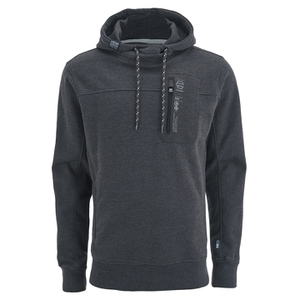 Crosshatch Men's Chalker Hoody - Charcoal Marl