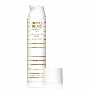 Mascarilla corporal autobronceadora Sleep Mask Tan Body de James Read 200 ml