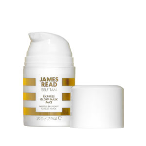 Mascarilla facial bronceadora Express Glow Mask Face Tan de James Read 50 ml