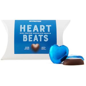 Proteinschokolade  Liebesherzen