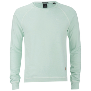 Scotch & Soda Men's Garment Dyed Sweatshirt - Spearmint
