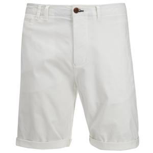Scotch & Soda Men's Twill Chino Shorts - White