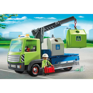 Playmobil City Action Glass Sorting Truck (6109)