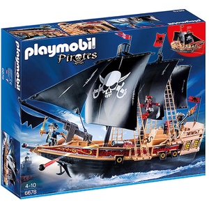Playmobil Piraten-Kampfschiff (6678)