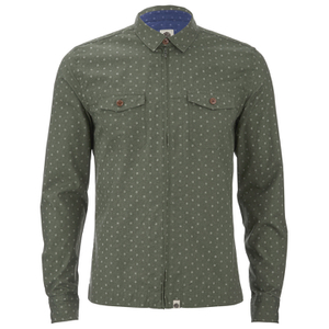 Pretty Green Men's Jackson Shirt - Khaki