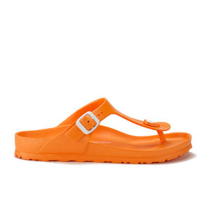 Birkenstock Women's Gizeh Slim Fit Toe-Post Sandals - Neon Orange