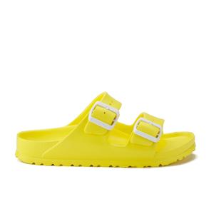 Birkenstock Women's Arizona Slim Fit Double Strap Sandals - Neon Yellow