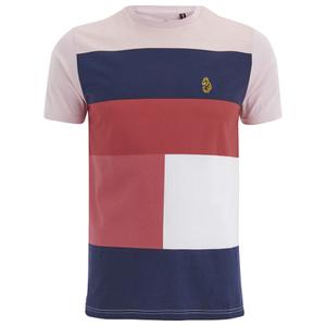 Luke 1977 Men's Close to the Wind Printed T-Shirt - Powder Pink