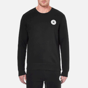 Converse Men's Crew Neck Sweatshirt - Converse Black