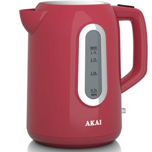 Akai A10001R Jug Kettle - Red - 1.7L