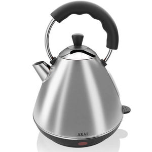 Akai A10002 Pyramid Kettle - Stainless Steel - 2L