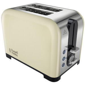 Russell Hobbs 22393 Cantebury 2 Slice Toaster - Cream