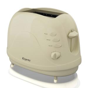 Elgento E20012C 2 Slice Toaster - Cream