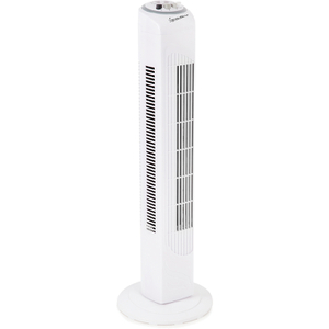 Signature S118N Oscillating Tower Fan - White - 29 Inch