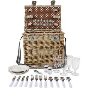 Coast & Country CC10006 4 Person Picnic Hamper