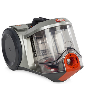 Vax C86PBBE Performance Bagless Cylinder Vacuum Cleaner