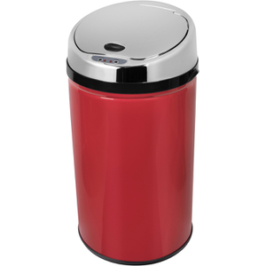 Morphy Richards 971496 Round Sensor Bin - Red - 30L
