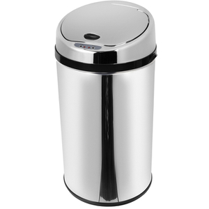 Morphy Richards 971499/MO Round Sensor Bin - Stainless Steel - 30L