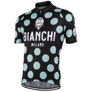 Bianchi Pride Short Sleeve Jersey - Celeste Polka