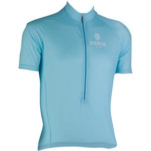 Bianchi Men's Edoardo Short Sleeve Jersey - Blue