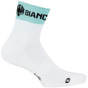 Bianchi Asfalto Socks - White/Green
