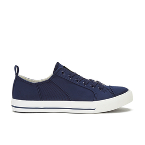 Crosshatch Men's Kashvault Suedette Trainers - Navy