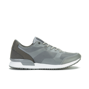 Crosshatch Men's Tricking Mesh Trainers - Smoked Pearl