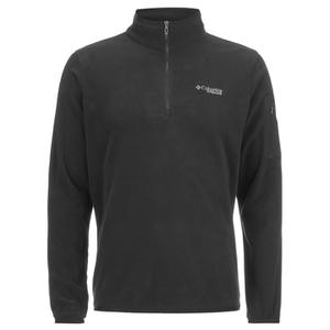 Columbia Men's Titan Pass 1.0 Half Zip Fleece - Black