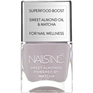 nails inc. Powered by Matcha Cornwall Gardens Sweet Almond Nail Varnish 14ml