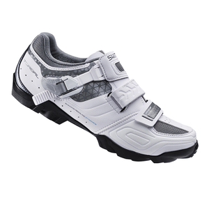 Shimano WM64 SPD Women's Cycling Shoes - White/Black