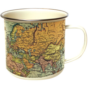 Man of the World - Pale Enamel Mug