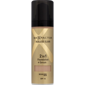 Fond de Teint Max Factor Ageless Elixir Foundation (Divers Tons)