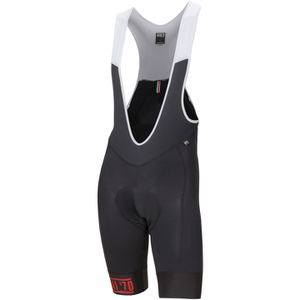 Nalini New Mavone Bib Shorts - Black/Red