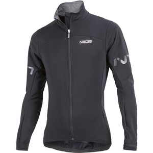 Nalini Black Windbreaker Jacket - Black