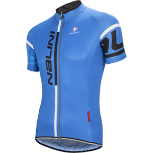 Nalini Summer Logo Ti Short Sleeve Jersey - Blue