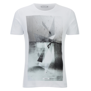 Selected Homme Men's York Crew Neck T-Shirt - Bright White