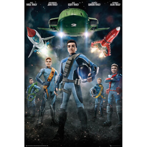 Thunderbirds Are Go Group - 24 x 36 Inches Maxi Poster