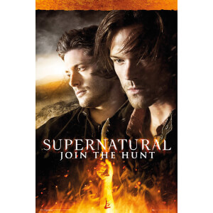 Supernatural Fire - 24 x 36 Inches Maxi Poster