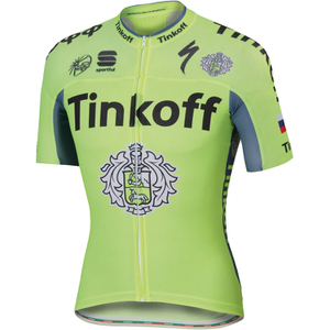 Tinkoff BodyFit Pro Race Short Sleeve Jersey 2016 - Yellow