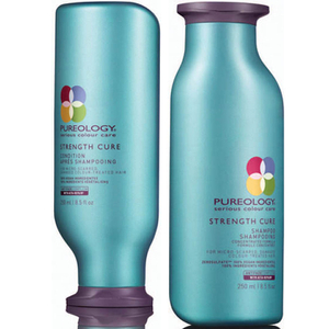 Pureology Strength Cure duo Shampoing et apres-shampoing