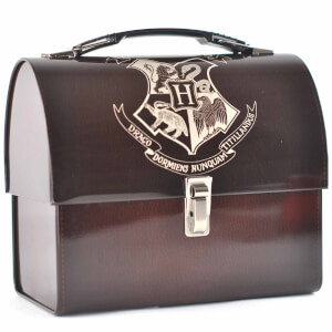 Harry Potter Hogwarts Crest Domed Tin Tote
