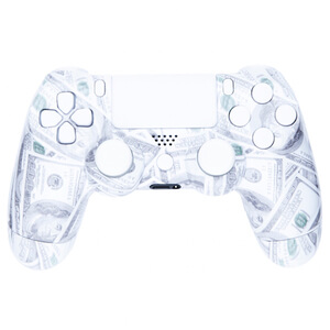 PlayStation DualShock 4 Custom Controller - Money Maker