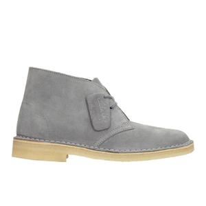 Clarks Originals Women's Suede Desert Boots - Blue/Grey