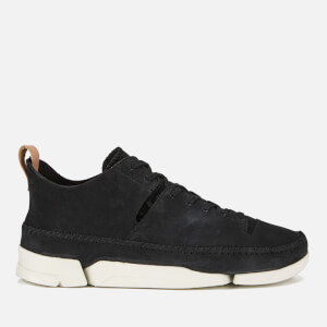 Clarks Originals Men's Trigenic Nubuck Suede Trainers - Black